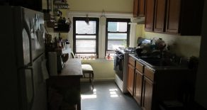 3rd floor walk-up  2 br , lr , eat in kitchen located in ditmas park