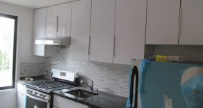 Brand new 2 br. with closets , lr, eat in kitchen with d/w , ac heater , hardwood floor in Kensington