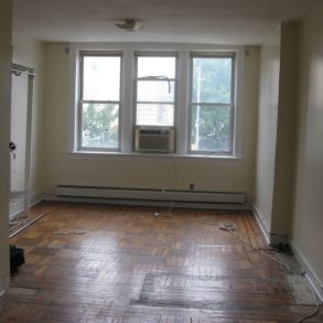 LARGE 1BEDROOM , LIVING ROOM, EAT IN KITCHEN AND BACKYARD