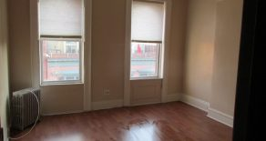 Large 2 bedroom, living room, kitchen with cabinets, bathroom, located on Prospect Park West in Windsor Terrace