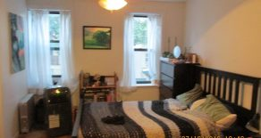 2 bedroom . kitchen , living room, office space, located in Park slope