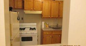 2 bedroom , living room , bathroom , kitchen with oak cabinets in kensington
