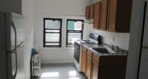 3rd floor walk-up  2 br , lr  , eat in kitchen , located in ditmas park